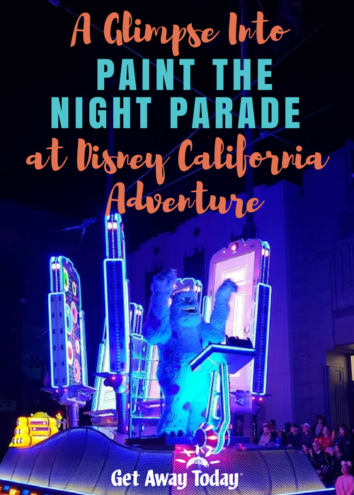 A Glimpse Into the Paint the Night Parade