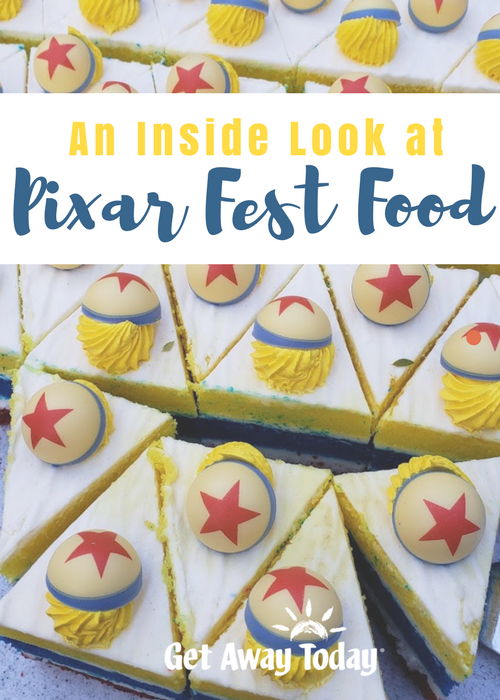 Inside Look at Pixar Fest Food || Get Away Today
