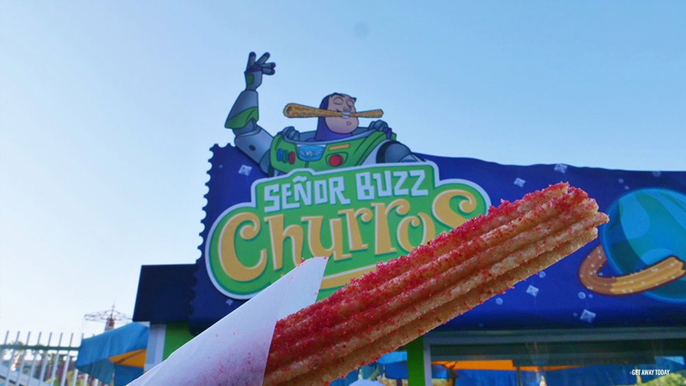 Pixar Pier Food Items Senor Buzz Churros