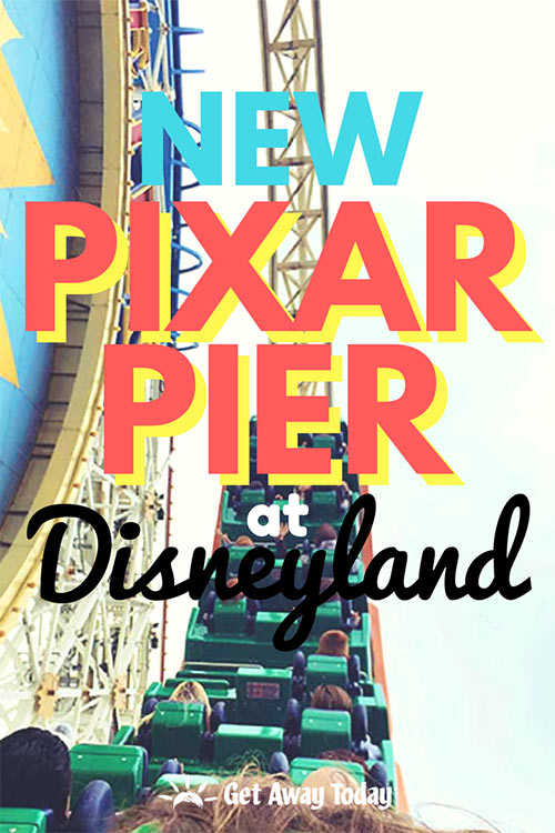 NEW Pixar Pier at Disneyland