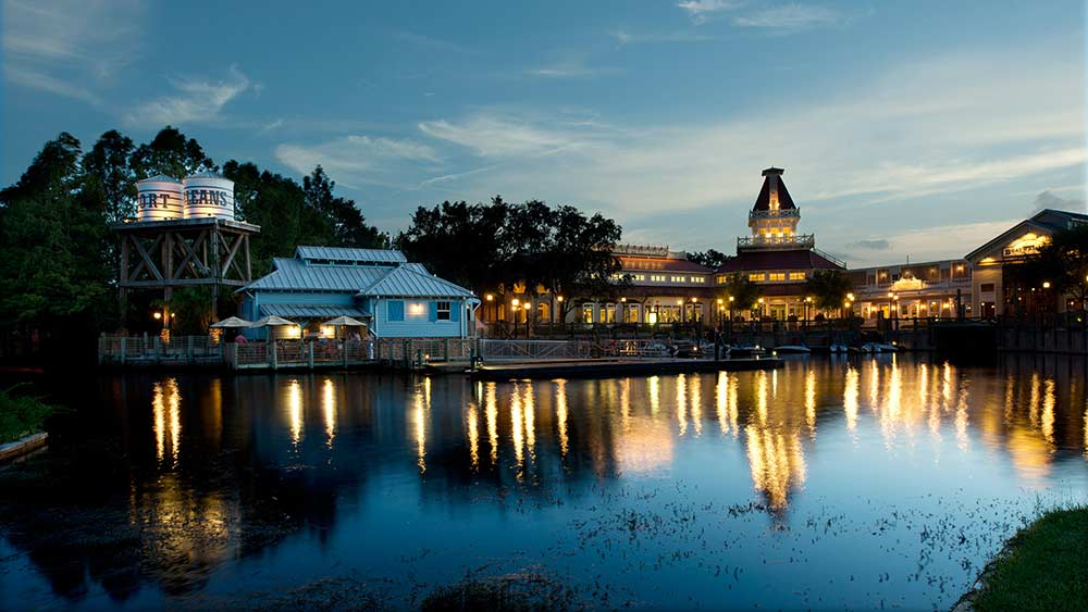 Port Orleans Riverside Review Marina