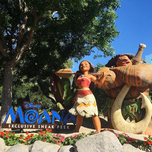 Moana Extended Preview at Disney California Adventure Park