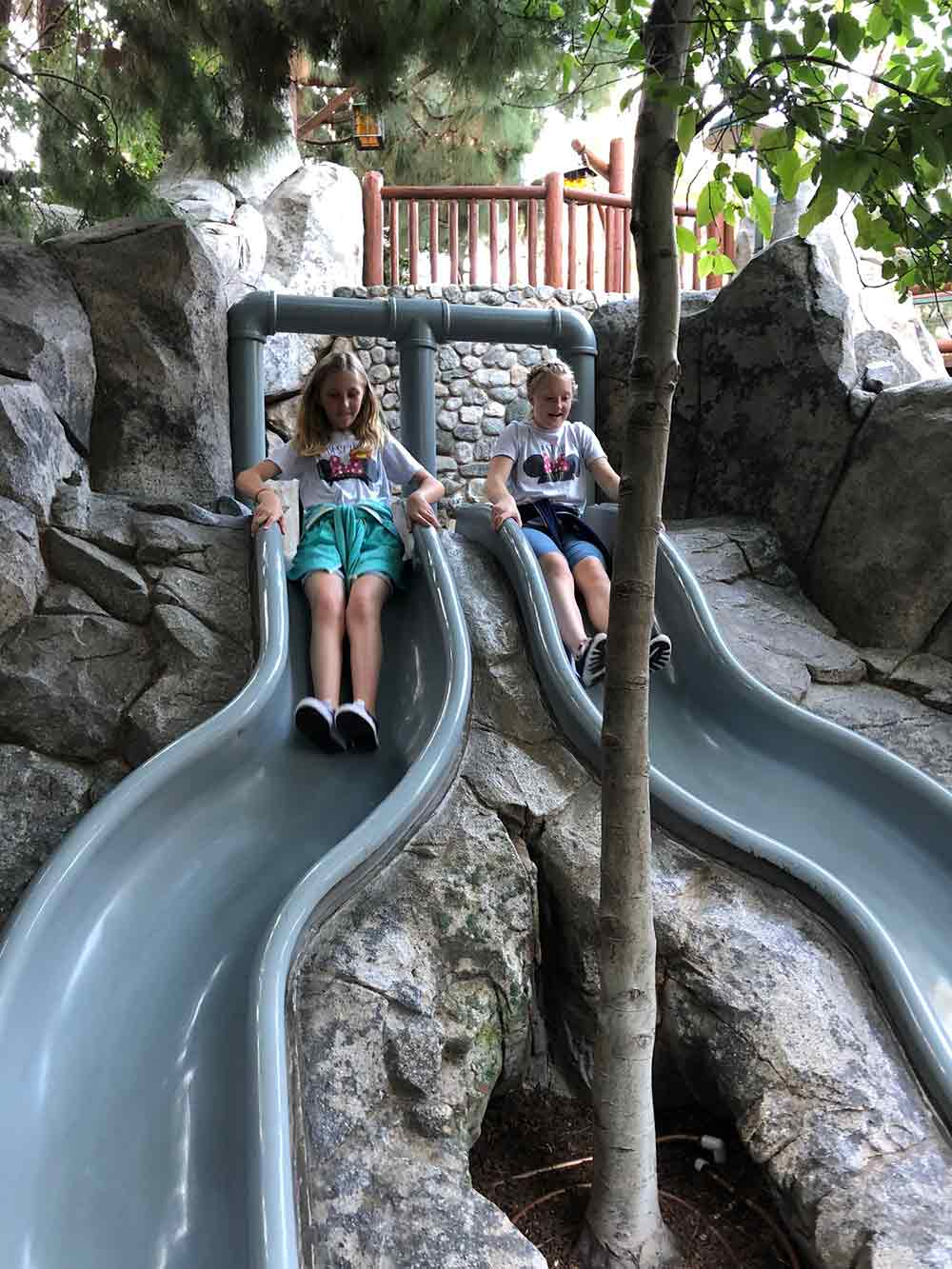 Redwood Creek Challenge Trail Slides