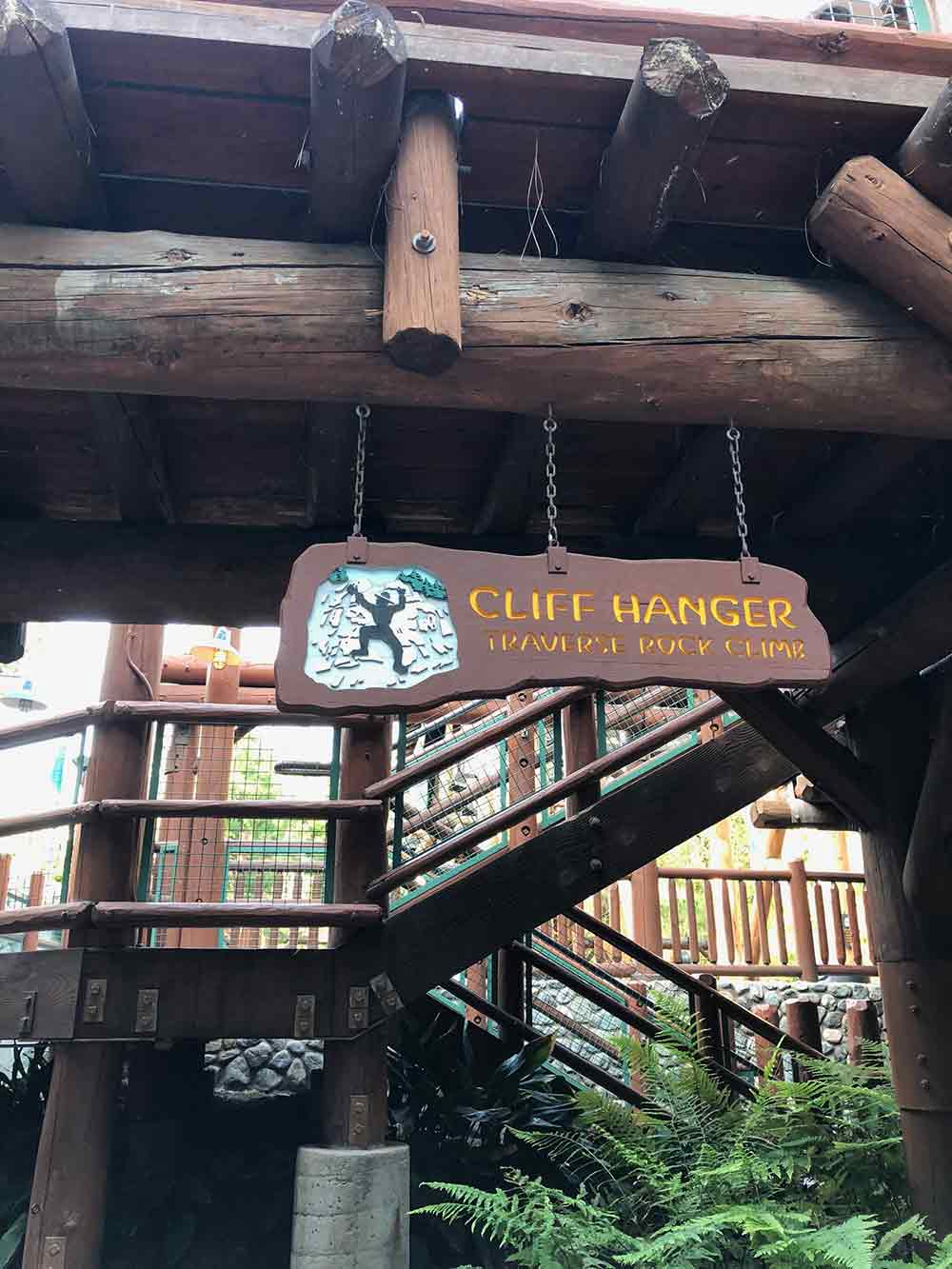 Redwood Creek Challenge Trail Cliff Hanger