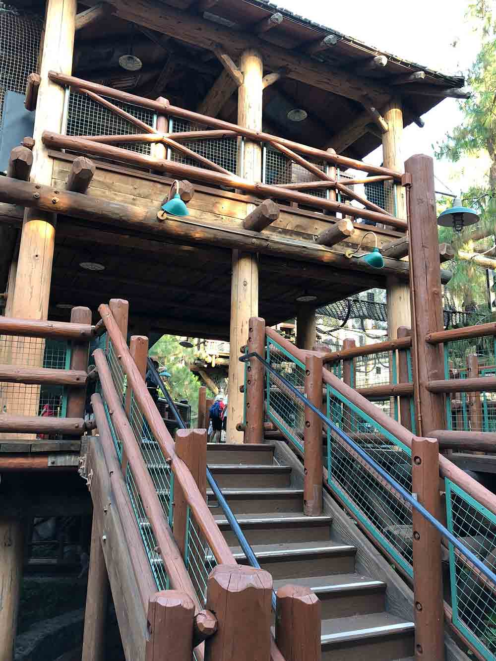 Redwood Creek Challenge Trail Jungle Gym