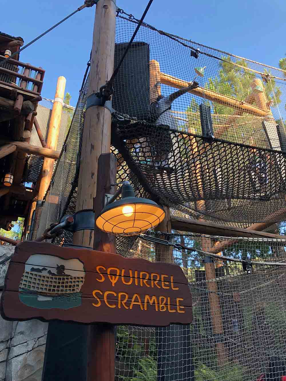 Redwood Creek Challenge Trail Squirrel Scramble