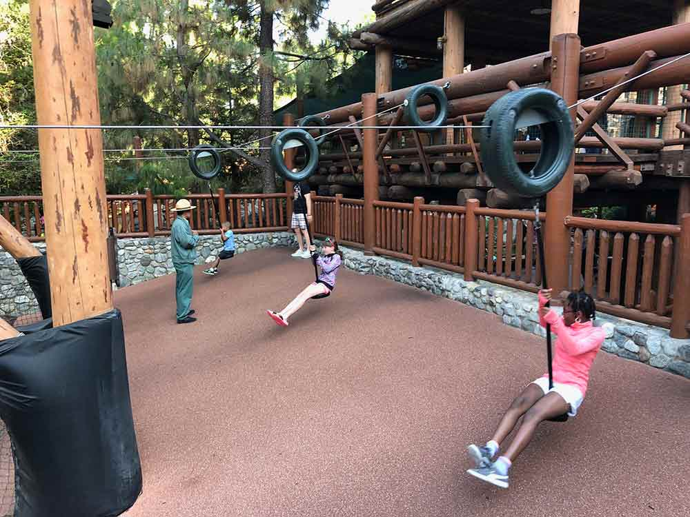 Redwood Creek Challenge Trail Swinging Tires