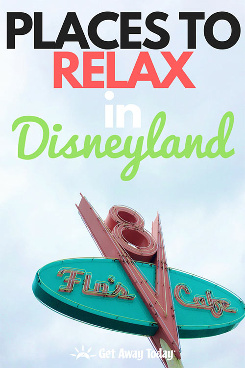 BEST Place to Relax in Disneyland || Get Away Today