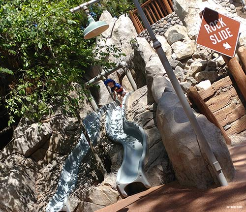 Relax in Disneyland Redwood Creek Challenge