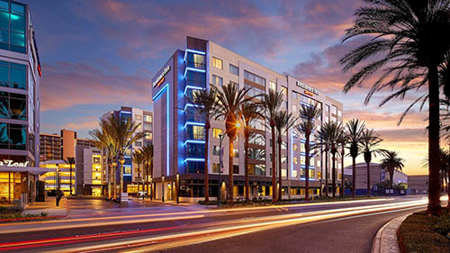 Residence Inn at Anaheim Convention Center Exterior