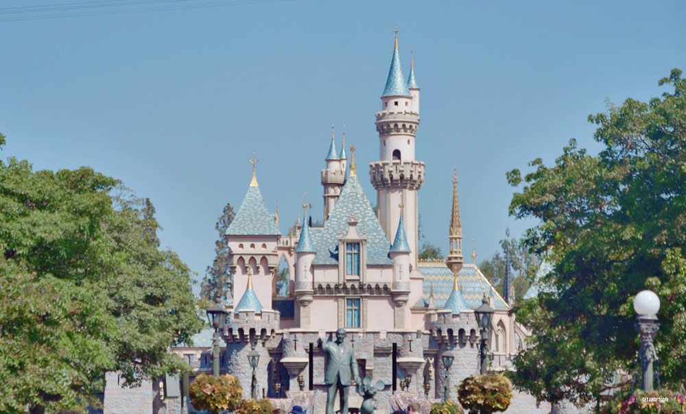 Sensory processing disorder at Disneyland Castle