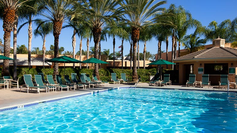 Sheraton Park Hotel at the Anaheim Resort Review Pool