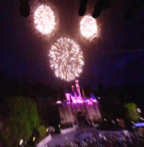 Soarin' Around the World Disneyland Fireworks