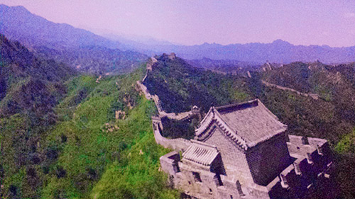 Soarin' Around the World Great Wall of China
