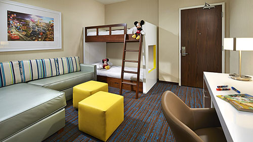Springhill Suites Anaheim Resort Convention Center Review Kid Suite