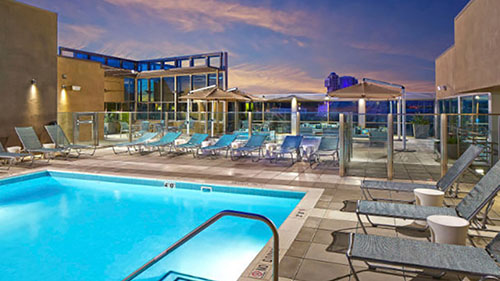 Springhill Suites Anaheim Resort Convention Center Review Pool