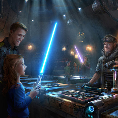 Star Wars Disneyland - How to be the FIRST to Experience Star Wars: Galaxy's Edge
