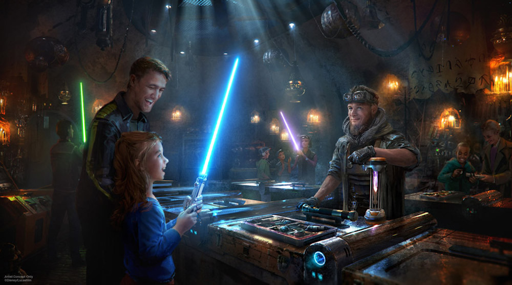 Star Wars Galaxy's Edge Reservations Lightsabers