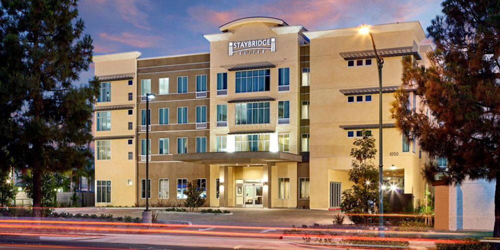 Staybridge Suites Anaheim at the Park Exterior