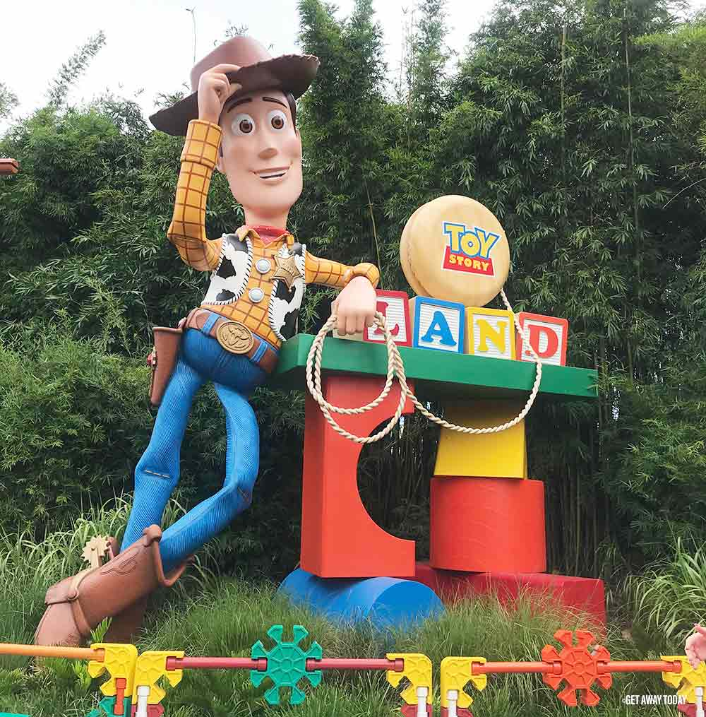 Surviving Disney World with Babies Toy Story Land