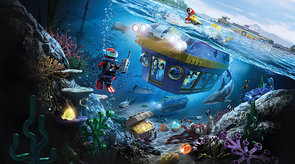 Things You Didn't Know About Legoland Deep Sea Adventure