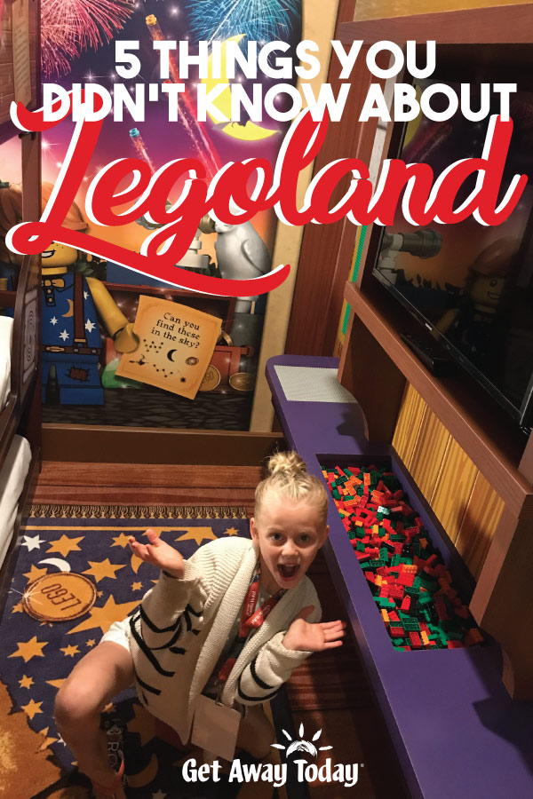 5 Things You Didn't Know About Legoland || Get Away Today