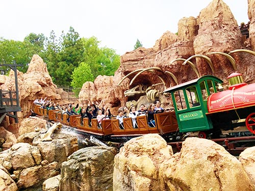 Tips for Adult Only Disneyland Trip Big Thunder Mountain