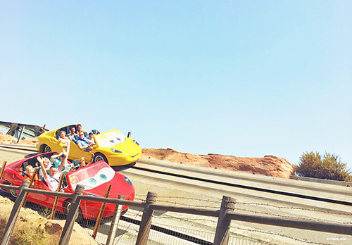 Tips for Adult Only Disneyland Trip Radiator Springs Racers