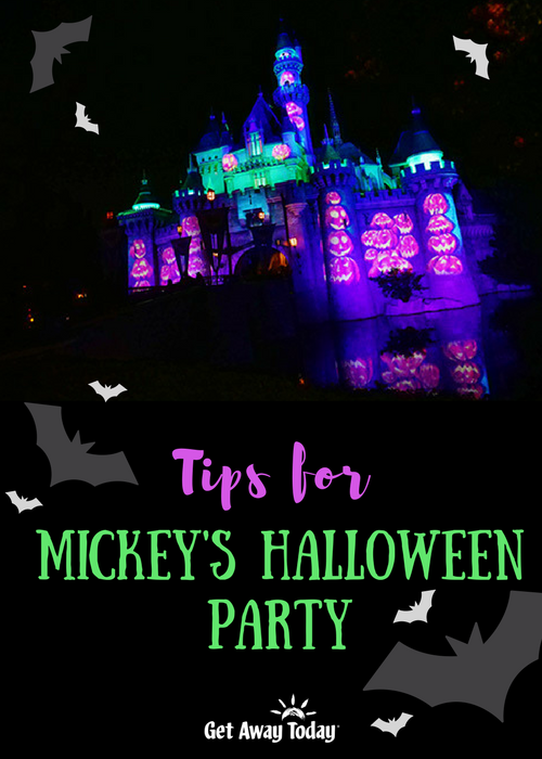 Tips for Mickey's Halloween Party Pin | Get Away Today