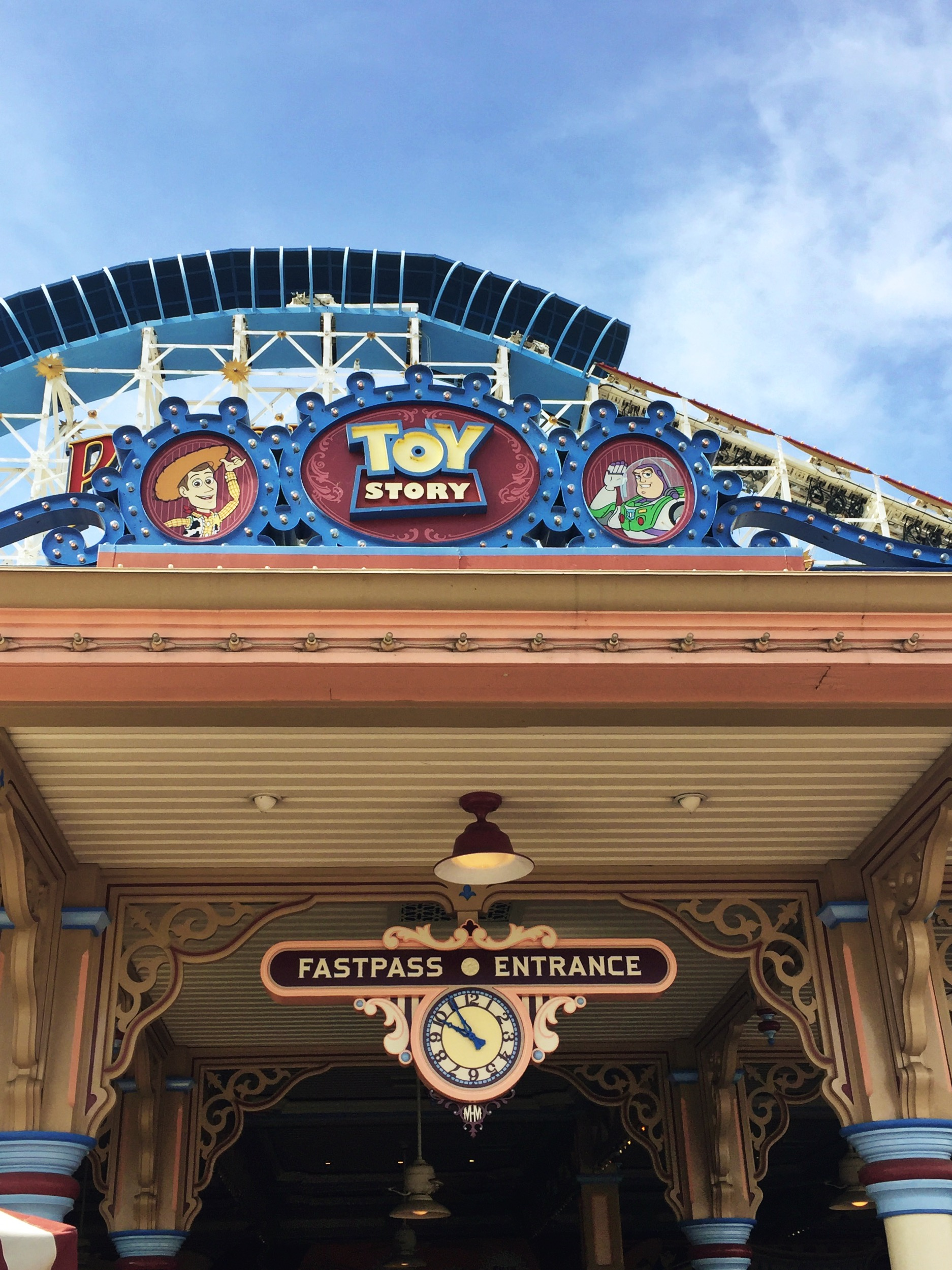 Pixar Pier Enhancements Toy Story Midway Mania