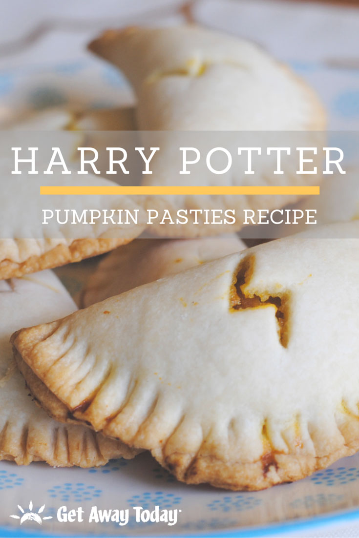 Harry Potter pumpkin pasties Pinterest image