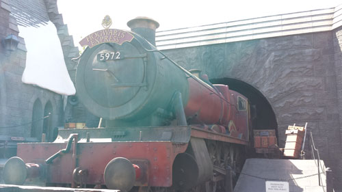 Hogwarts Express at the Wizarding World of Harry Potter in California