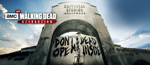 The Walking Dead at Universal Studios Hollywood Attraction
