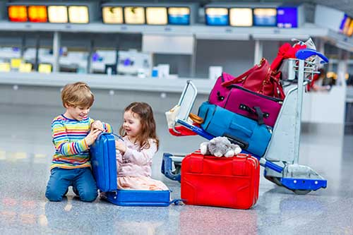 Vacation Problems Kids Suitcase