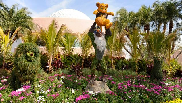 Walt Disney World Resort International Flower And Garden Festival 2014