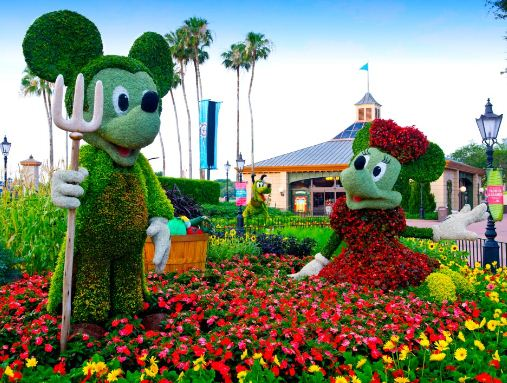 Epcot 2013 International Flower And Garden Festival