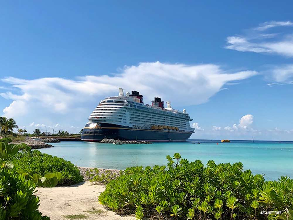Disney Cruise Ship port