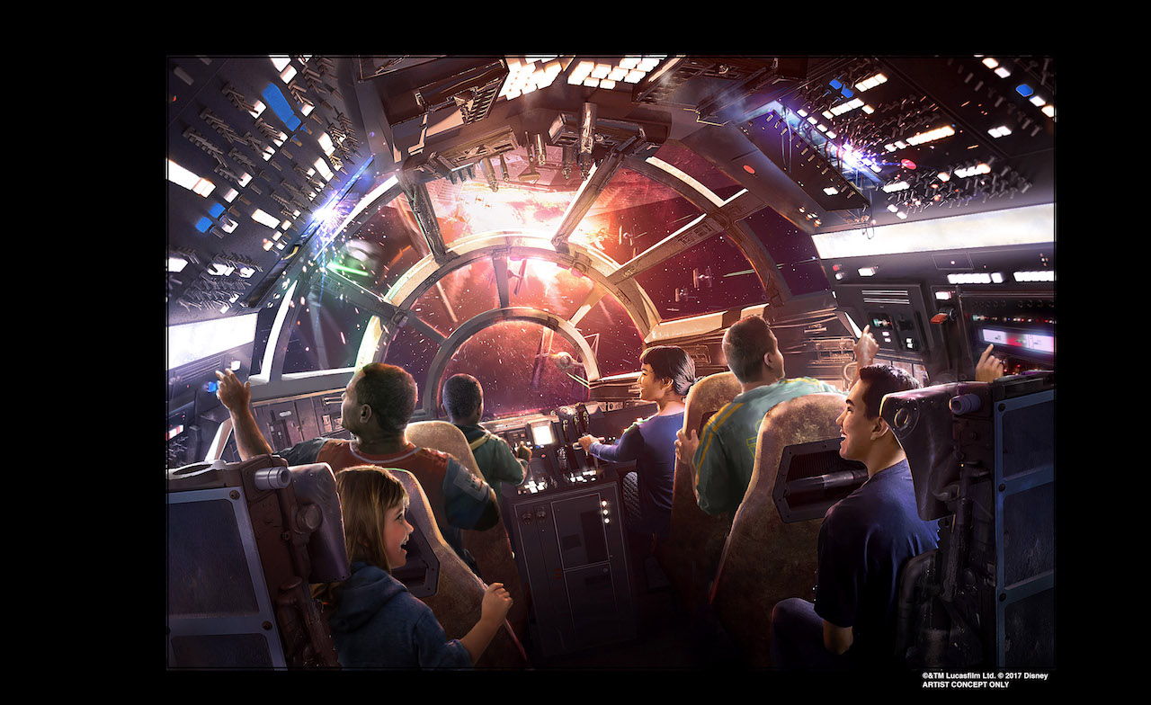 When Does Star Wars Land Open Ride