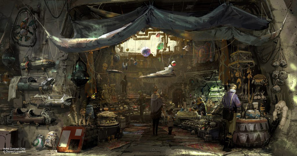 When Does Star Wars Land Open Outposts