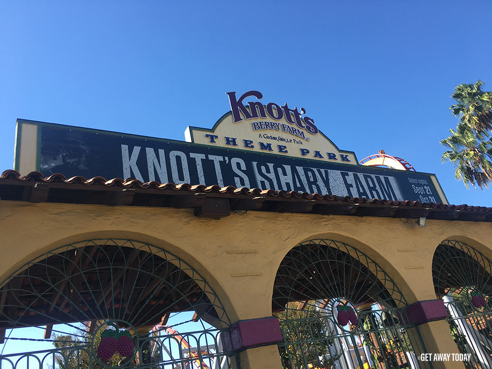 Where to go for Halloween in California Knotts Scary Farm