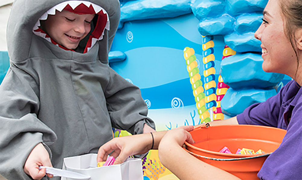 Where to go for Halloween in California SeaWorld