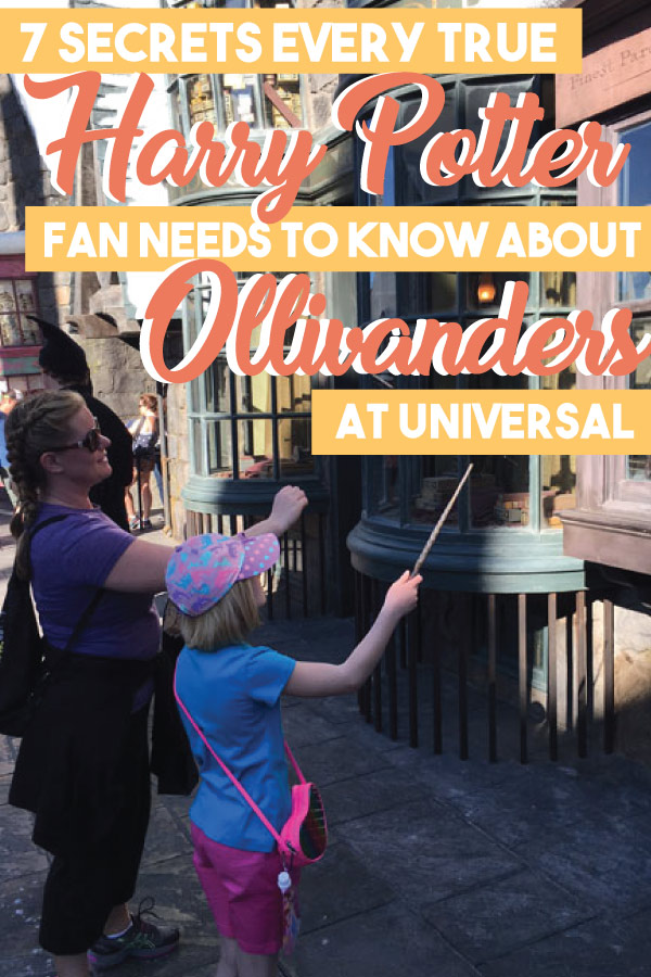 Wizarding World of Harry Potter Tips Ollivanders Wand Shop Secrets