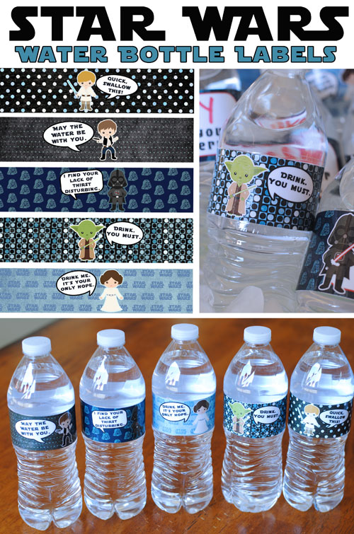 Wizarding World of Harry Potter Tips Water Bottle Star Wars