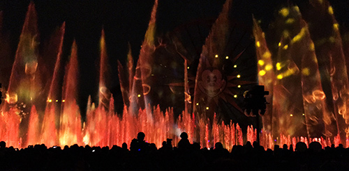 World of Color Dessert Party Show