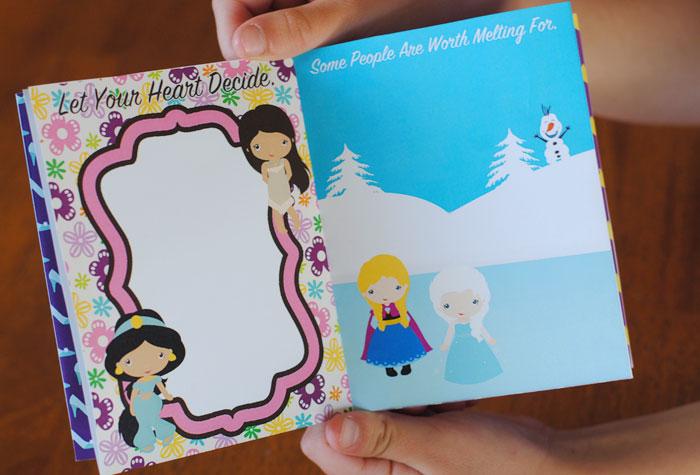 Disney Princess Autograph Book Printable