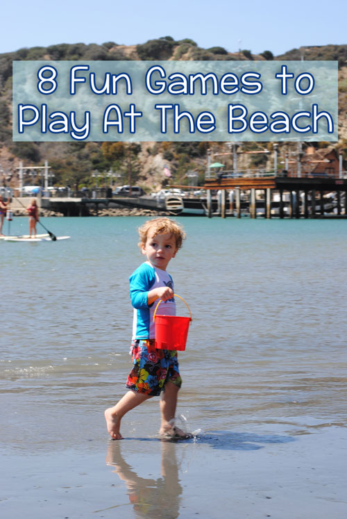 8 Fun Games to Play at the Beach