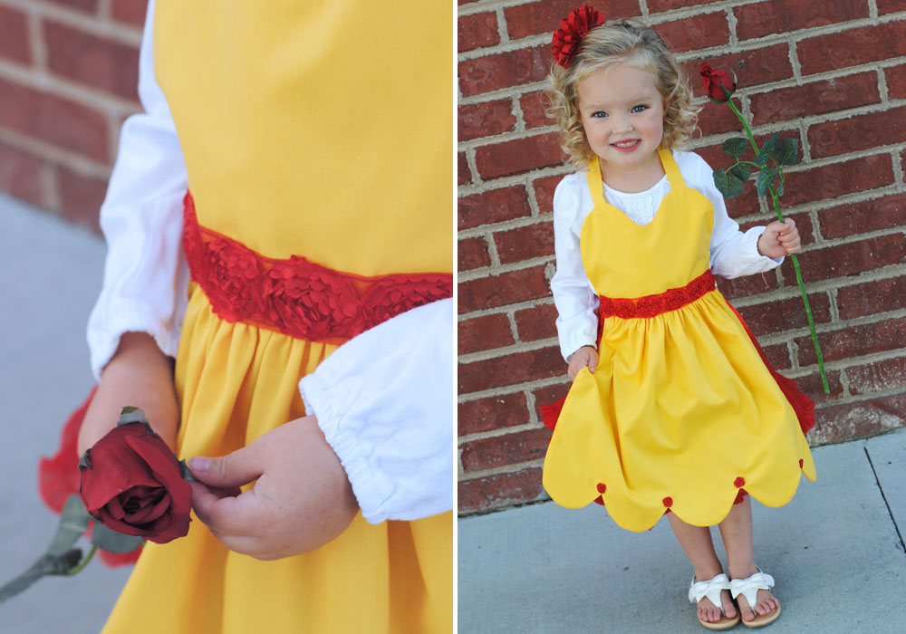 Easy DIY Belle Costume and Free Pattern