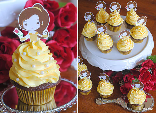 Belle Cupcakes Display