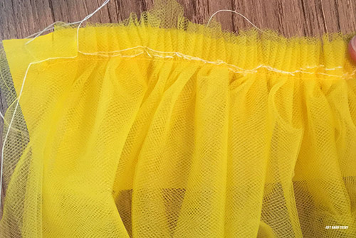 Belle Skirt Gathering Stitch