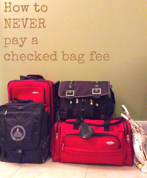 Carry On Bag vs Checked Baggage